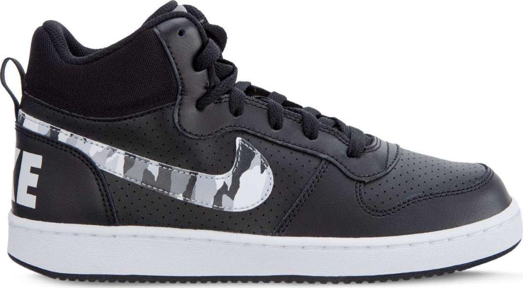 9275f7c834bfdd Nike Buty damskie Court Borough Mid GS 008 czarne r. 38.5 (839977-008) w  Sklep-presto.pl