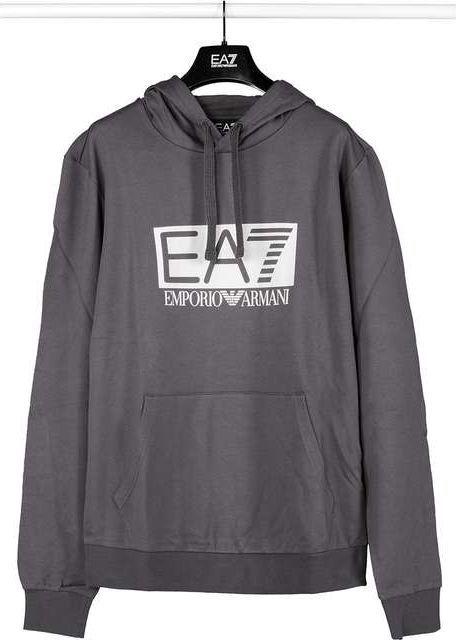 648763bb1997 EA7 Emporio Armani Bluza męska Sweatshirt Jersey szara r. M  (3GPM62PJ05Z-1993)