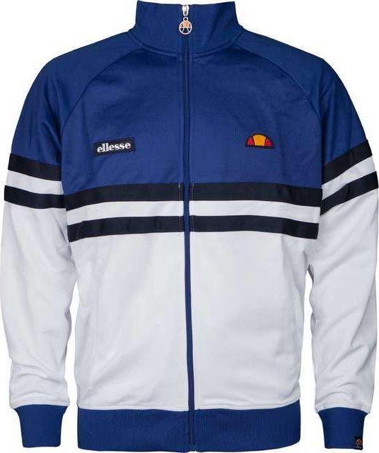 Ellesse Bluza męska Rimini Tracktop biało niebieska r. XL (SHY00892) ID produktu: 5384228