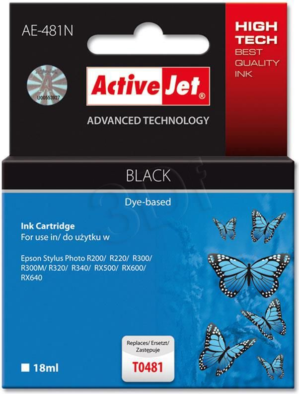 Activejet tusz AE-481N / T0481 (black) 1