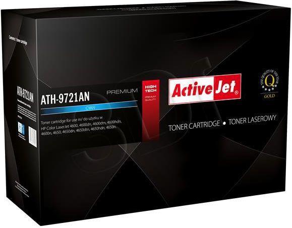 Activejet toner ATH-9721AN (C9721A) Cyan 1