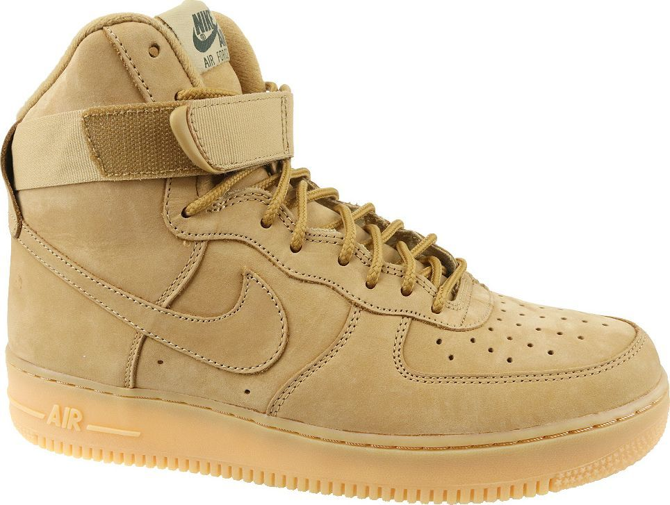 online retailer eb098 d1615 Nike Buty męskie Air Force 1 HIGH '07 LV8 WB brązowe r. 43 (882096-200) w  Sklep-presto.pl