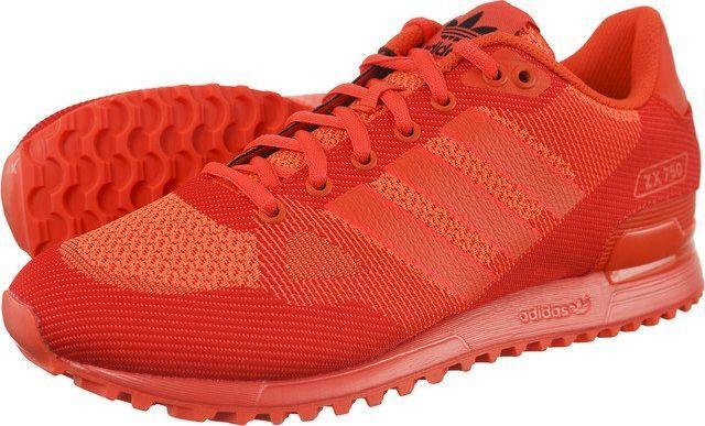 Adidas Buty damskie ZX 750 WV 126 czerwone r. 38 (S80126) ID produktu: 5421684