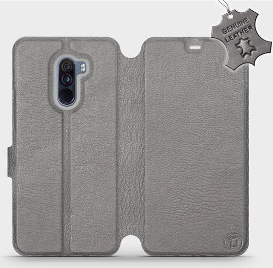 65a964efa5213b Mobiwear Xiaomi Pocophone F1 -Etui na telefon, case, obudowa, pokrowiec  wzór Gray Leather uniwersalny w Morele.net