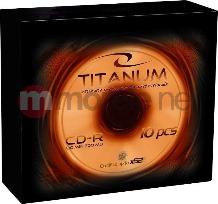 Titanum CD-R 700 MB 56x 1 sztuka (2029) 1