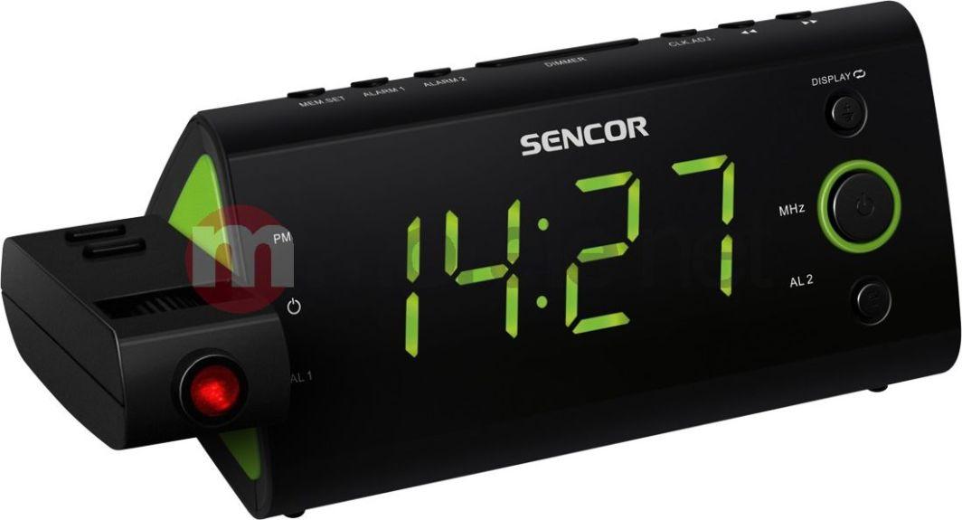 Radiobudzik Sencor SRC 330GN 1