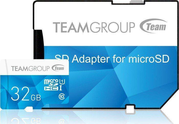 Karta Team Group Color Card MicroSDHC 32 GB Class 10 UHS-I  (TCUSDH32GUHS40) 1