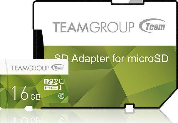 Karta Team Group MicroSDHC 16 GB Class 10 UHS-I/U1  (TCUSDH16GUHS43) 1