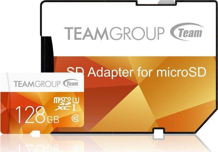 Karta Team Group MicroSDXC 128 GB Class 10 UHS-I  (TCUSDX128GUHS42) 1