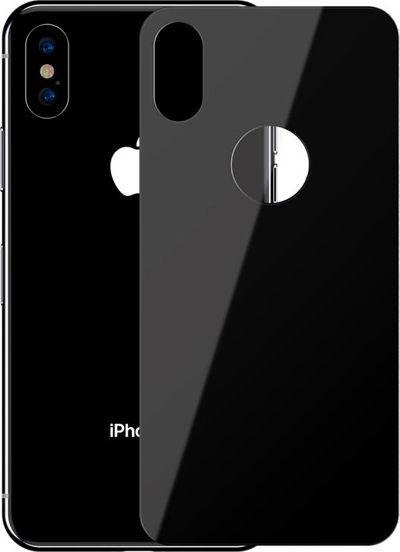Baseus Szkło hartowane 0.3mm na tył obudowy do iPhone X / XS, czarne 1