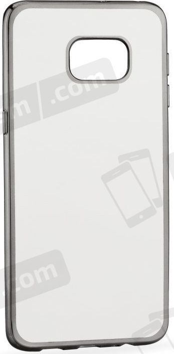 Telone Telone Super Thin Transparent Silicone Back Case Huawei P9 Lite with Grey color frame 1