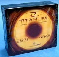 Titanum CD-R 700 MB 56x 10 sztuk (E5905784760568) 1