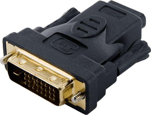 Adapter AV 4World HDMI - DVI-D czarny (8737) 1
