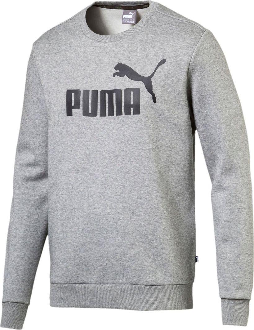 Puma Bluza męska ESS Logo Crew szara r. XS ID produktu: 5510647