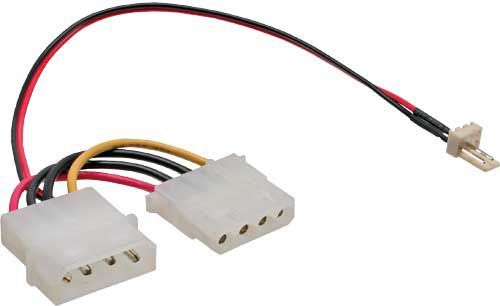 InLine Adapter 4-Pin do 3-Pin (33344) 1