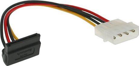 InLine Adapter SATA Kątowy w dół na Molex (29670X) 1