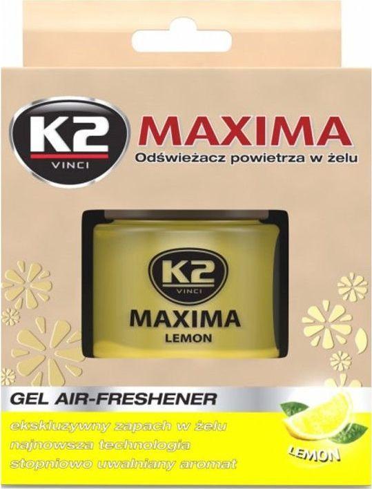 K2 Sport K2-ZAPACH MAXIMA 50ML ZELOWY LEMON 1
