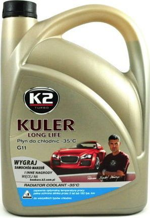 K2 Sport PLYN DO CHLODNIC KULER 5L -35C NIEBIESKI 1