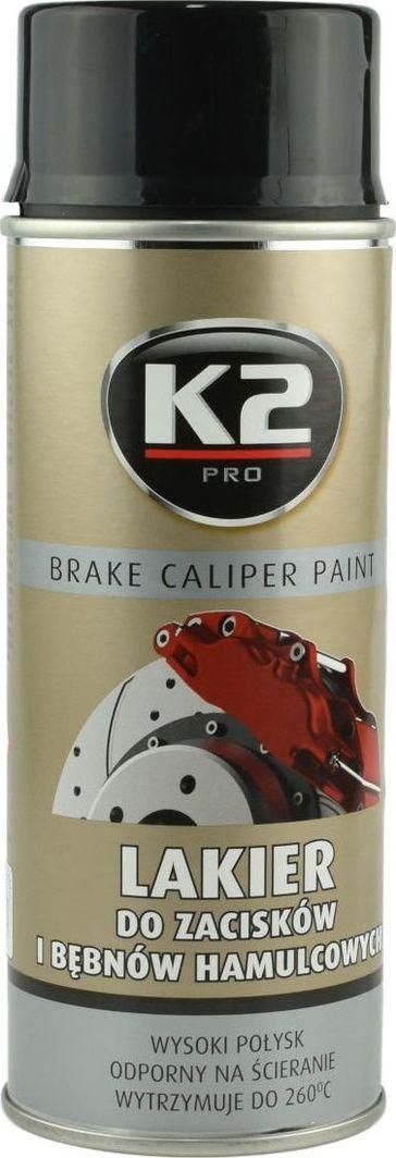 K2 Sport K2-CALIPER LAKIER DO ZACISKOW CZARNY 400 1