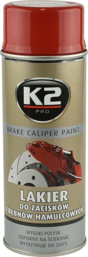 K2 Sport K2-CALIPER LAKIER DO ZACISKOW CZERW 400 1