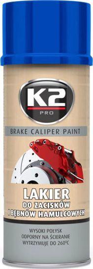 K2 Sport K2-CALIPER LAKIER DO ZACISKOW NIEBIE 400 1