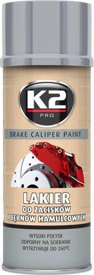 K2 Sport K2-CALIPER LAKIER DO ZACISKOW SREBRN 400 1