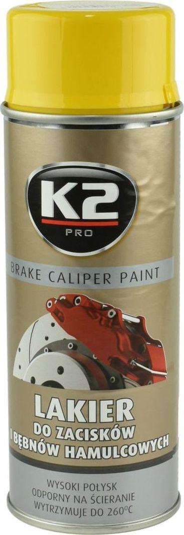 K2 Sport K2-CALIPER LAKIER DO ZACISKOW ZOLTY 400 1
