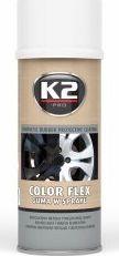 K2 Sport K2-COLOR FLEX GUMA BIALY 400ML DO FELG 1