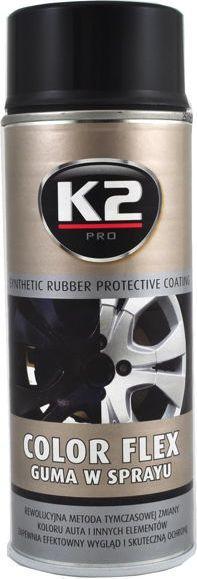 K2 Sport K2-COLOR FLEX GUMA CZARNY POLYSK 400ML 1