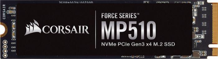 Dysk SSD Corsair Force MP510 240 GB M.2 2280 PCI-E x4 Gen3 NVMe (CSSD-F240GBMP510) 1