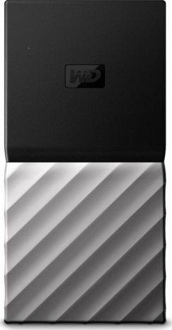 Dysk zewnętrzny Western Digital SSD My Passport 1 TB Czarno-srebrny (WDBKVX0010PSL-WESN) 1