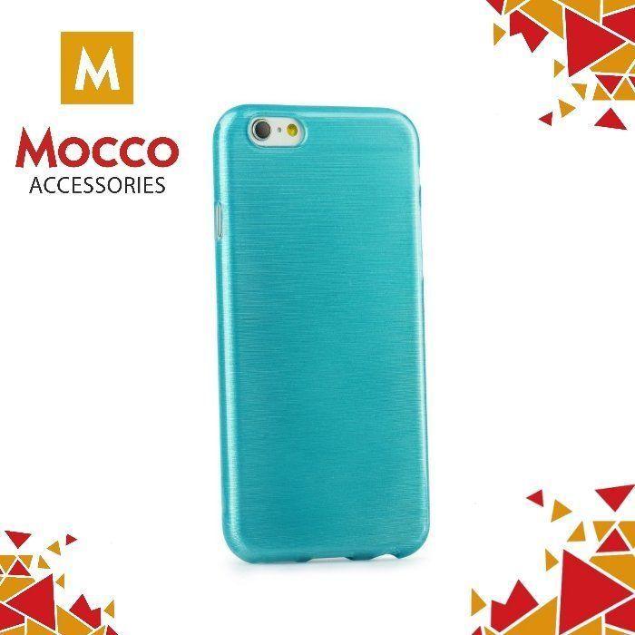 Mocco Apsauginė nugarėlėMocco Jelly Brush Case, skirta Samsung G930 Galaxy S7telefonui, mėlyna 1