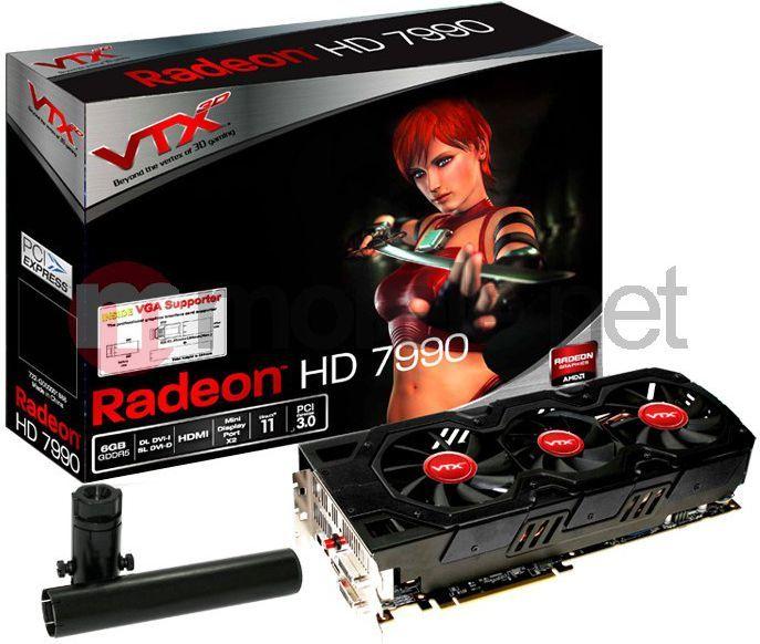 Karta graficzna Vertex3D Radeon HD 7990 6GB (6GBD5-2DHJ) 1