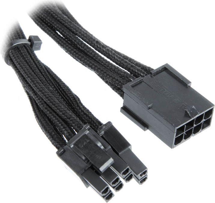 BitFenix przedłużacz 6+2-Pin PCIe 45cm (BFA-MSC-62PEG45KK-RP) 1