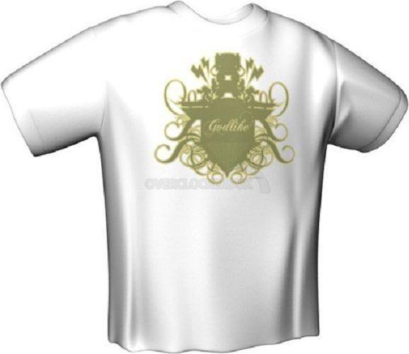 GamersWear GODLIKE T-Shirt biała (L) (5990-L) 1