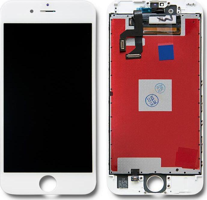Qoltec Wyświetlacz dotykowy LCD do iPhone 6S, ramka biała 1