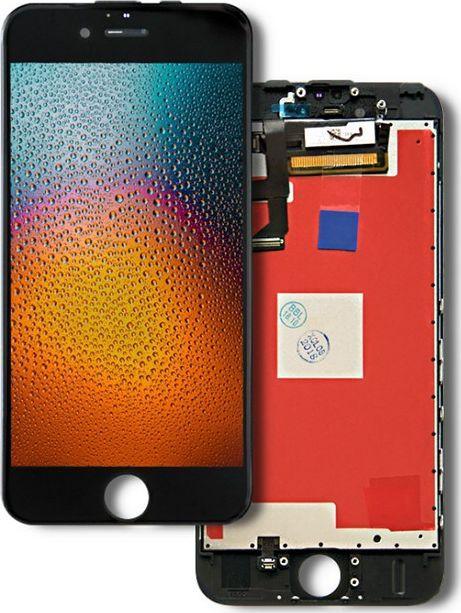 Qoltec Wyświetlacz dotykowy LCD do iPhone 6S, ramka czarna 1