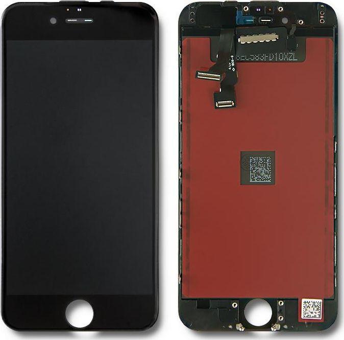 Qoltec Wyświetlacz dotykowy LCD do iPhone 6, ramka czarna 1
