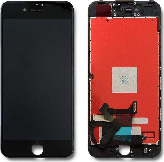 Qoltec Wyświetlacz dotykowy LCD do iPhone 7, ramka czarna 1