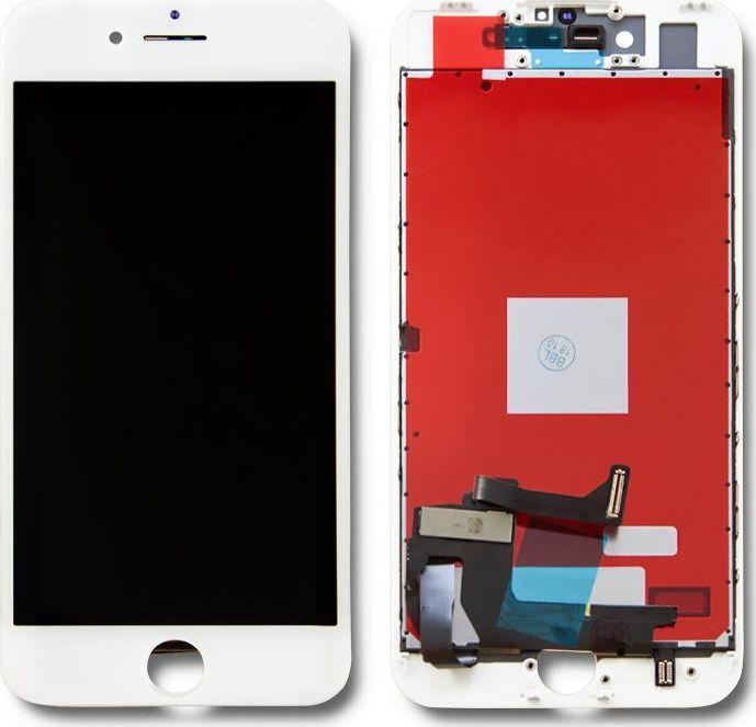 Qoltec Wyświetlacz dotykowy LCD do iPhone 7, ramka biała 1