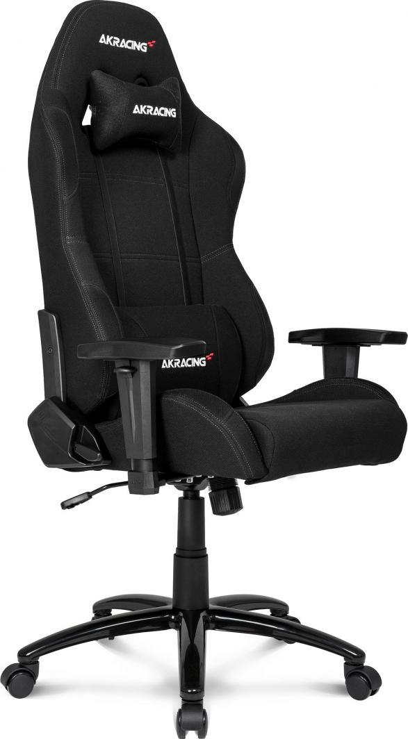 Fotel Akracing Core EX Czarny materiał (AK-EX-BK) 1