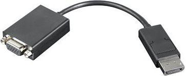 Adapter AV Lenovo DisplayPort - D-Sub (VGA) 0.2m czarny (57Y4393) 1