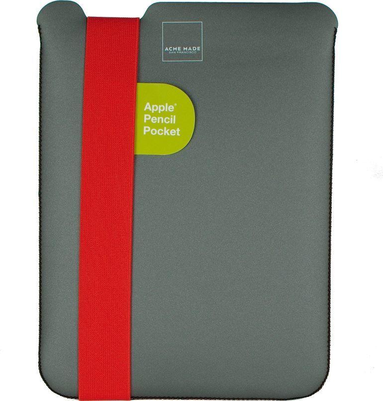 "Etui Acme Acme MadeSkiny Sleeve Medium do MacBook 15"" szaro/pomarańczowe 1"