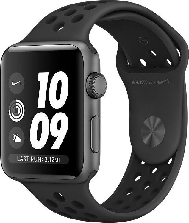 Smartwatch Apple Watch 3 Nike Series GPS 42mm Szary  (MTF42MP/A) 1
