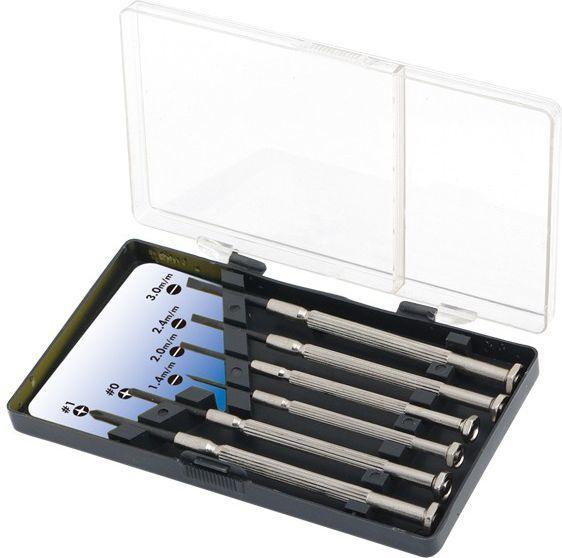 LogiLink Zestaw sześciu małych śrubokrętów (WZ0022) 1