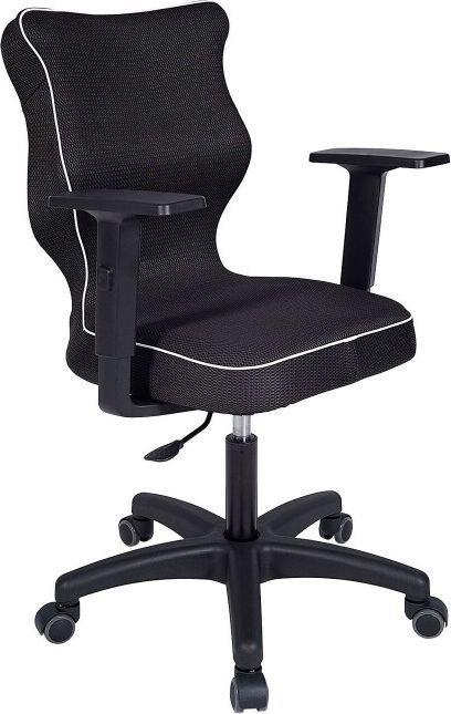 Krzesło obrotowe Rapid rozmiar 3, lamówka biała