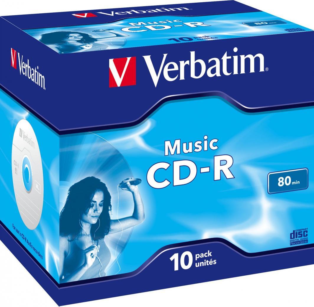 Verbatim CD-R 700 MB 16x 10 sztuk (43365) 1