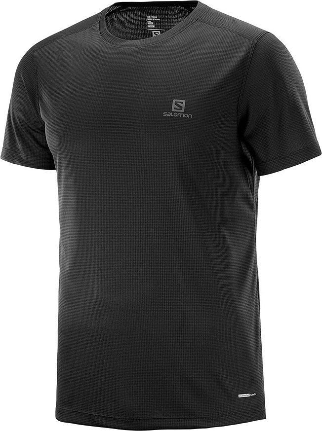 Salomon Koszulka męska Stroll SS Tee Black r. L (L40097400) ID produktu: 5586719
