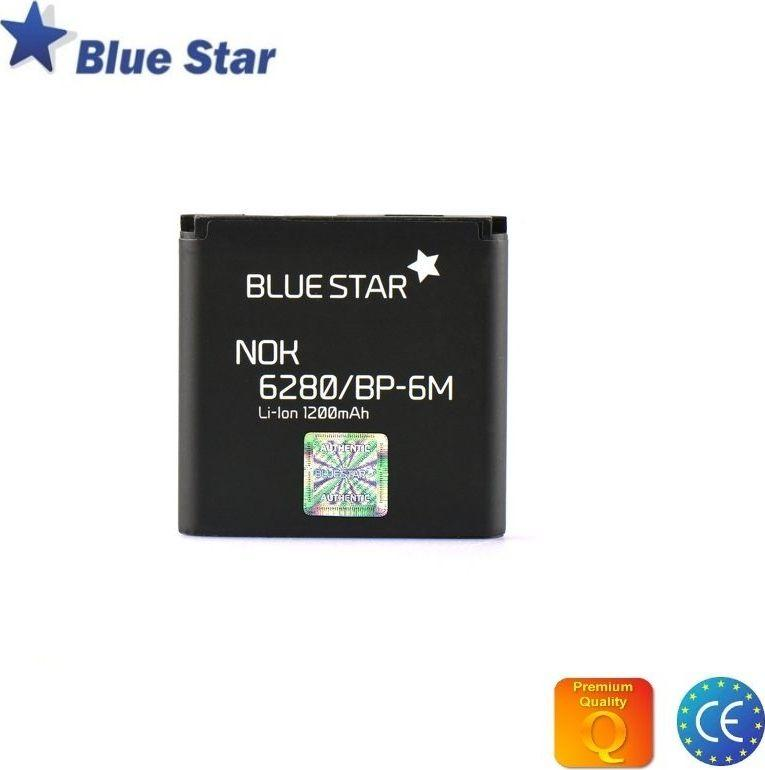Bateria Blue Star Nokia 9300 3250 6280 N73 N93 Li-Ion 1200 mAh Analog (BP-6M) 1