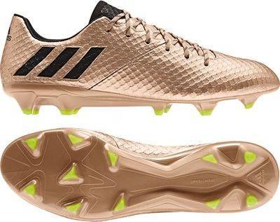 Adidas Buty piłkarskie Messi 16.1 FG złote r. 42 23 (BA9109) ID produktu: 5612194